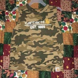 Sleeveless Carhartt Shirt